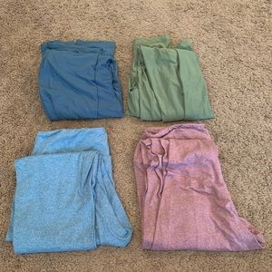 Lot of 4 LulaRoe OS leggings